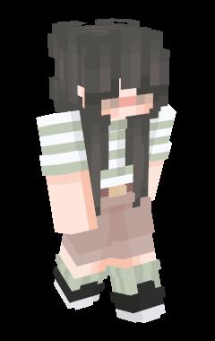 Minecraft Skin beaach
