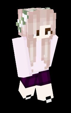Minecraft Skin Hitomi_IZONE